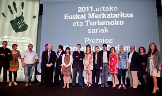 Premios del Comercio y el Turismo Vasco 2011