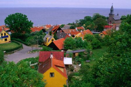 Bornholm, destino de verano en Dinamarca