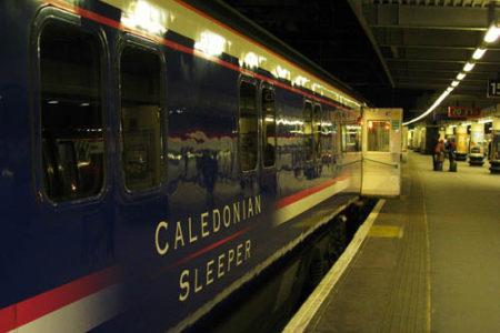 Caledonian Sleeper, un tren nocturno