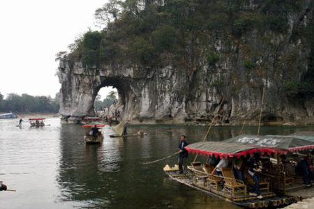 La Colina de la trompa de Elefante, en Guilin