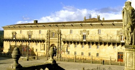 Hotel Parador Reyes Católicos, en Santiago de Compostela