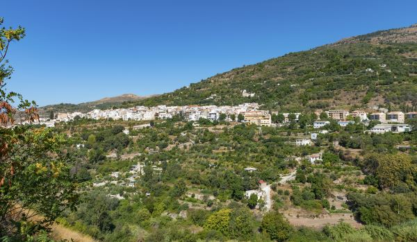 Vista de Lajarón, Granada