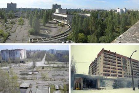 Pripyat, la ciudad fantasma de Ucrania