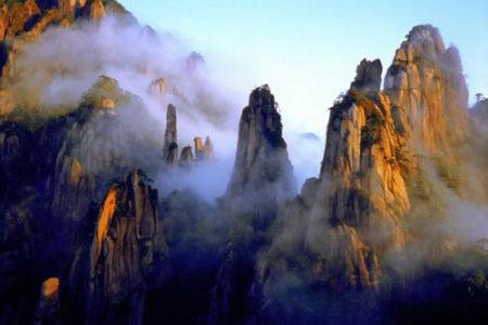 La belleza etérea del Monte Sanqing