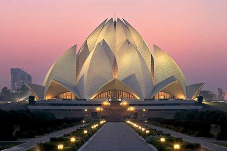 El Templo del Loto, en Delhi