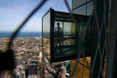 La Torre Eureka, Melbourne desde el cielo