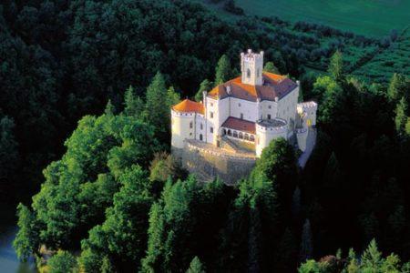 El Castillo Trakoscan, en el norte de Croacia