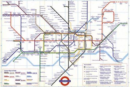 Guía del metro de Londres