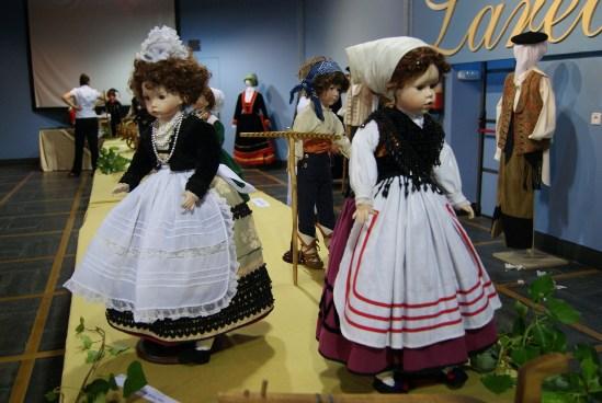 Exposición de trajes en Laredo