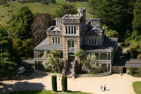 Larnach, el único castillo de Nueva Zelanda