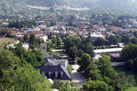 Cetinje, la antigua capital de Montenegro