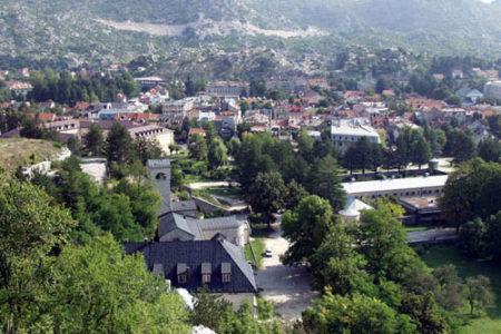 Cetinje, la antigua capital de Montenegro