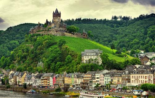 cochem aldea medieval alemana On cochem alemania