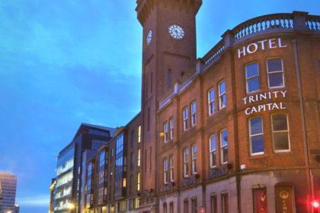 Hotel Trinity Capital, encanto estudiantil en Dublín
