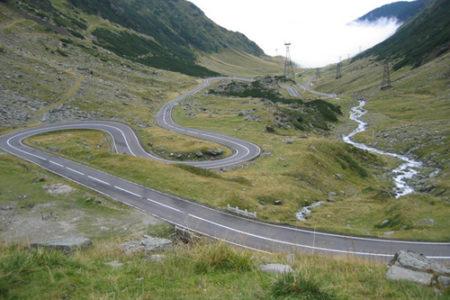 Transfagarasan, la ruta de las mil vueltas en Rumanía