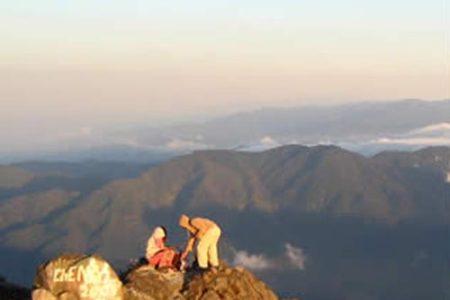 Volcán Barú, vistas al Mar Caribe y al Pacífico