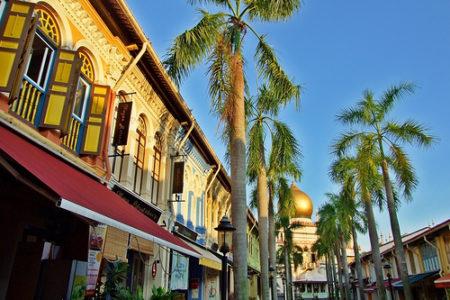 Caminando por la vieja Singapur