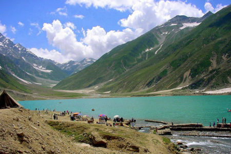 Saiful Muluk, el lago verde de Pakistán