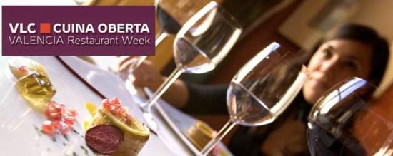 Valencia Cuina Oberta-Restaurant Week