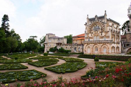 Buçaco, bosque y palacio real en Portugal