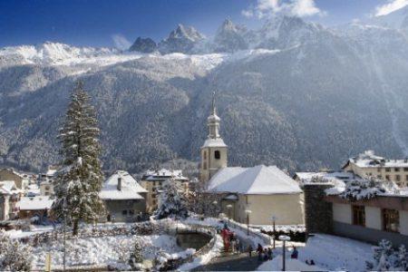 Navidades románticas en los Alpes franceses