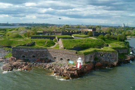 La Fortaleza Suomenlinna, atracción en Helsinki