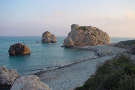 La Roca de Afrodita, en la costa de Chipre