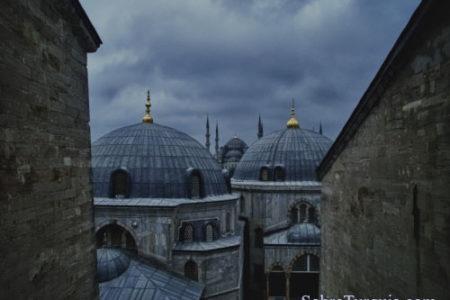 Volando sobre las cúpulas de Estambul