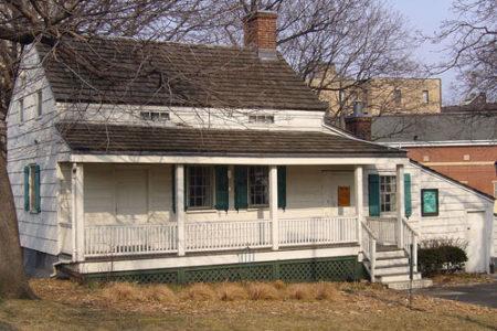 La casa Museo de Edgar Allan Poe en el Bronx, Nueva York