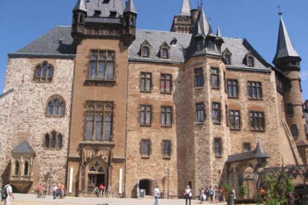Visita al castillo alemán de Wernigerode