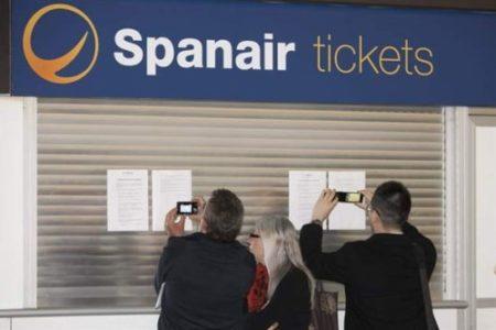 Devolución de billetes por cierre de Spanair
