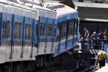 Terrible accidente ferroviario en Buenos Aires