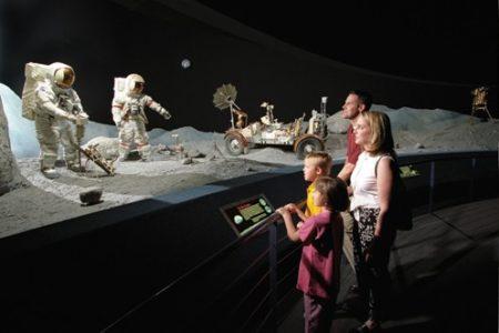 El Centro Espacial Houston, un viaje al universo