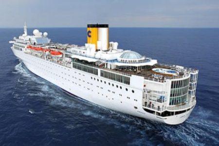 Otro barco de Costa Cruceros con problemas y a la deriva