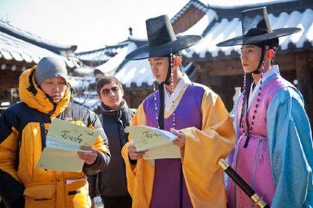 Corea, visita a un set de filmación de un clásico k-dorama