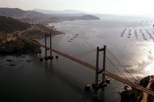 Puente Rande en Vigo