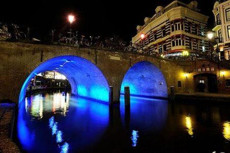 Trajectum Lumen, un paseo nocturno por Utrecht
