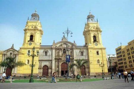 De paseo por la Catedral de Lima
