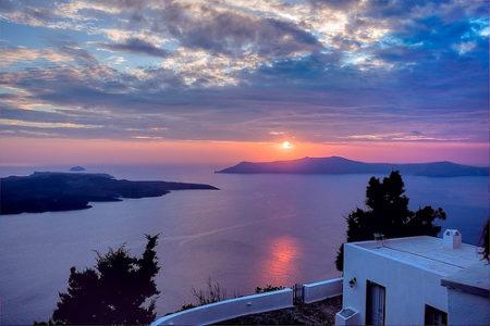 Santorini, el atardecer más bello