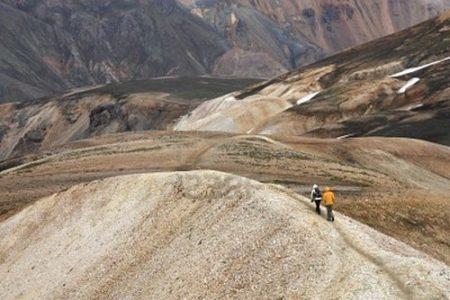 Laugavegur, sendero de excursionismo en Islandia