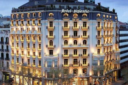 Majestic Hotel & Spa de Barcelona en la  fase final de reformas