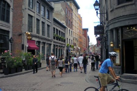 Un paseo por el casco histórico de Montreal