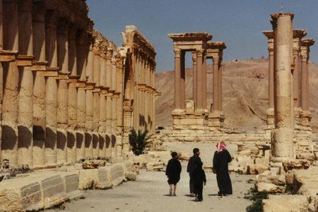 Las ruinas de Palmira, en Siria