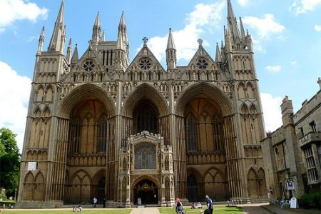 La Catedral de Peterborough, paseo desde Londres