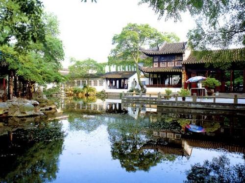 Los hermosos Jardines de Suzhou