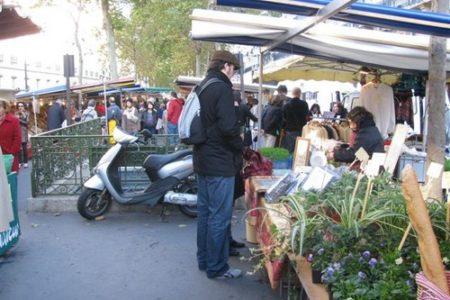 Algunos mercados en Francia