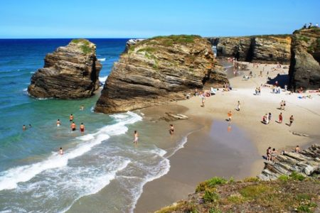 Vacaciones de verano en las playas de Galicia