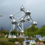 El Atomium, desde el Mini Europe