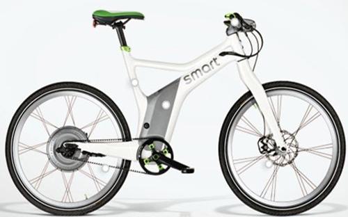 Bicicleta eléctrica usada en Barcelona