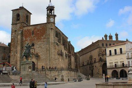 La Plaza Mayor de Trujillo en Cáceres
